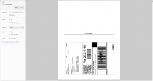 Sample Shipping Label